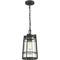 ELK 45493/1 Crofton 8 inch Charcoal Outdoor Hanging Light