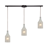 ELK Lighting HGTV HOME Skylar 3 Light Pendant in Oiled Bronze 46005/3L