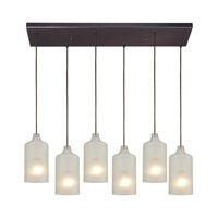 ELK Lighting HGTV HOME Skylar 6 Light Pendant in Oiled Bronze 46006/6RC