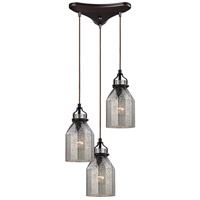 ELK Lighting HGTV HOME Danica 3 Light Chandelier in Oil Rubbed Bronze 46009/3
