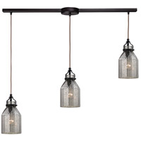 ELK Lighting HGTV HOME Danica 3 Light Chandelier in Oil Rubbed Bronze 46009/3L