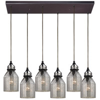Danica 6 Light 30 inch Oil Rubbed Bronze Chandelier Ceiling Light