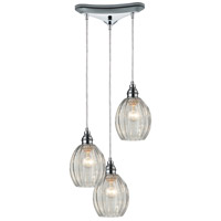 ELK Lighting Danica 3 Light Pendant in Polished Chrome 46017/3
