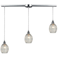 ELK Lighting HGTV HOME Danica 3 Light Pendant in Polished Chrome 46017/3L
