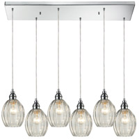 ELK Lighting Danica 6 Light Pendant in Polished Chrome 46017/6RC