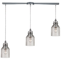 ELK Lighting Danica 3 Light Chandelier in Polished Chrome 46019/3L