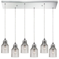 ELK Lighting Danica 6 Light Chandelier in Polished Chrome 46019/6RC