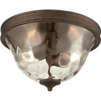 ELK 46028/2 Cheltham 2 Light 12 inch Mocha Flush Mount Ceiling Light