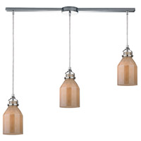 ELK Lighting Danica 3 Light Chandelier in Polished Chrome 46029/3L