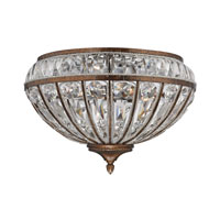 ELK 46044/4 Empire 4 Light 16 inch Mocha Flush Mount Ceiling Light