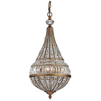 Empire 3 Light 11 inch Mocha Pendant Ceiling Light