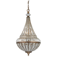 ELK 46047/6 Empire 6 Light 16 inch Mocha Chandelier Ceiling Light