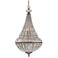 ELK Lighting Empire 9 Light Pendant in Mocha 46048/6+3