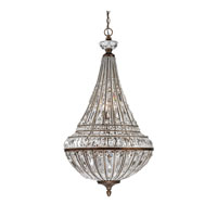 Empire 9 Light 23 inch Mocha Pendant Ceiling Light