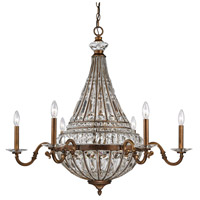 Empire 14 Light 35 inch Mocha Chandelier Ceiling Light