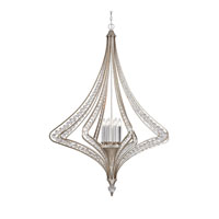 Ventoux 8 Light 44 inch Satin Silver Chandelier Ceiling Light