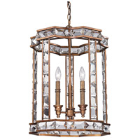 ELK Lighting Montclare 3 Light Pendant in Mocha 46066/3