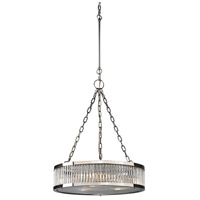 ELK 46105/3 Linden Manor 3 Light 20 inch Polished Nickel Chandelier Ceiling Light