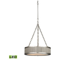 ELK Lighting Linden LED Pendant in Brushed Nickel 46114/3-LED