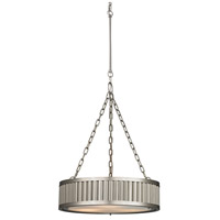 Linden 3 Light 20 inch Brushed Nickel Pendant Ceiling Light in Standard
