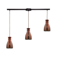 ELK Lighting HGTV HOME Strata 3 Light Chandelier in Oil Rubbed Bronze 46127/3L