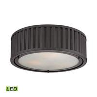 ELK Lighting Linden LED Flush Mount in Oil Rubbed Bronze 46131/3-LED photo thumbnail