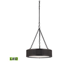 ELK Lighting Linden LED Pendant in Oil Rubbed Bronze 46134/3-LED
