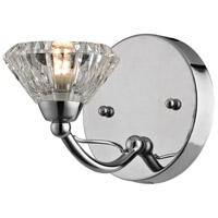 ELK 46145/1 Hawthorne 1 Light 5 inch Polished Chrome Bath Bar Wall Light
