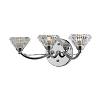 ELK Lighting Hawthorne 3 Light Bath Bar in Polished Chrome 46147/3