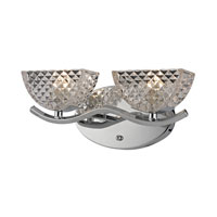 ELK Lighting Contour 2 Light Bath Bar in Polished Chrome 46157/2