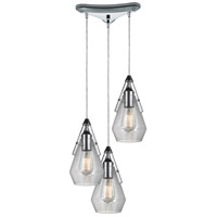 Duncan 10 inch Polished Chrome Pendant Ceiling Light