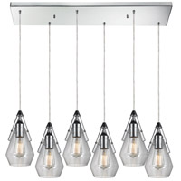 Duncan 30 inch Polished Chrome Pendant Ceiling Light