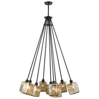 Watercube 9 Light 34 inch Oil Rubbed Bronze Chandelier Ceiling Light