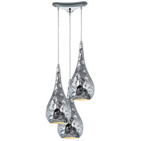 Hammersmith 3 Light 10 inch Polished Chrome Pendant Ceiling Light