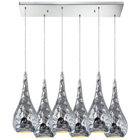 Hammersmith 6 Light 30 inch Polished Chrome Pendant Ceiling Light