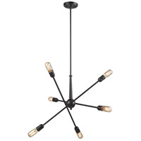 ELK 46227/6 Delphine 6 Light 28 inch Oil Rubbed Bronze Chandelier Ceiling Light