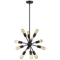 Delphine 12 Light 16 inch Oil Rubbed Bronze Chandelier Ceiling Light