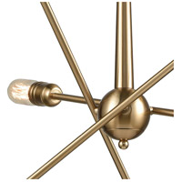 ELK 46240/6 Delphine 6 Light 28 inch Satin Brass Chandelier Ceiling Light alternative photo thumbnail