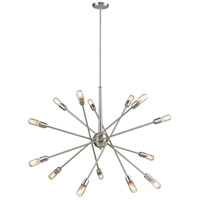 Delphine 14 Light 38 inch Satin Nickel Chandelier Ceiling Light