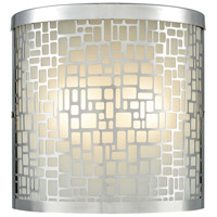 ELK 46291/2 Hooper 2 Light 8 inch Polished Stainless Outdoor Sconce