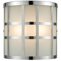 Hooper 2 Light 8 inch Polished Stainless Outdoor Wall Sconce