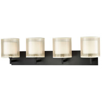 ELK 46303/4 Ashland 4 Light 35 inch Matte Black Vanity Light Wall Light