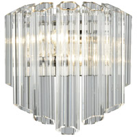Carrington 2 Light 11 inch Polished Chrome Wall Sconce Wall Light