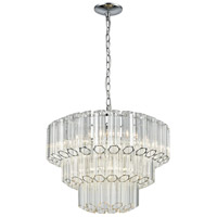 Carrington 4 Light 20 inch Polished Chrome Pendant Ceiling Light