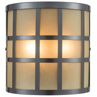 Hooper 2 Light 8 inch Oil Rubbed Bronze Outdoor Wall Sconce