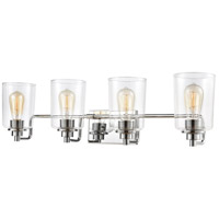 ELK 46623/4 Robins 4 Light 32 inch Polished Chrome Vanity Light Wall Light