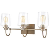 Glass Bakersfield Bathroom Vanity Lights