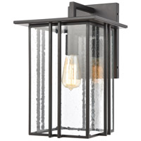 Radnor 1 Light 16 inch Matte Black Outdoor Wall Sconce