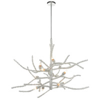 ELK 46783/12 Winter's Spray 48 inch Polished Chrome Chandelier Ceiling Light