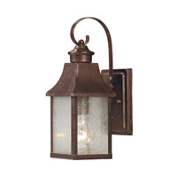 ELK Lighting Town Square 1 Light Outdoor Wall Sconce in Hazelnut Bronze 47000/1